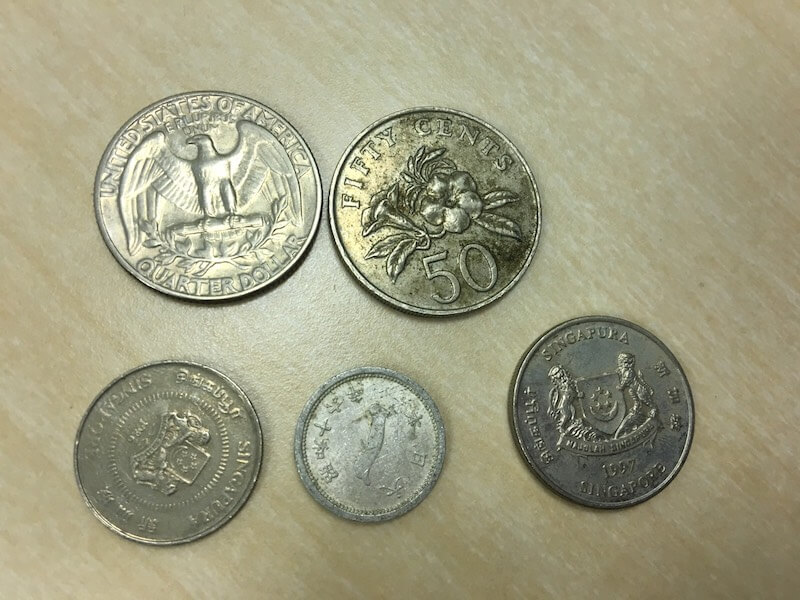 外国コイン