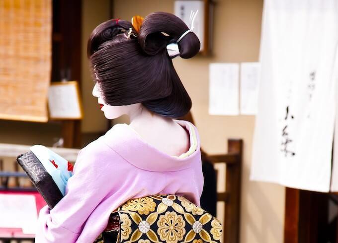京都の芸者