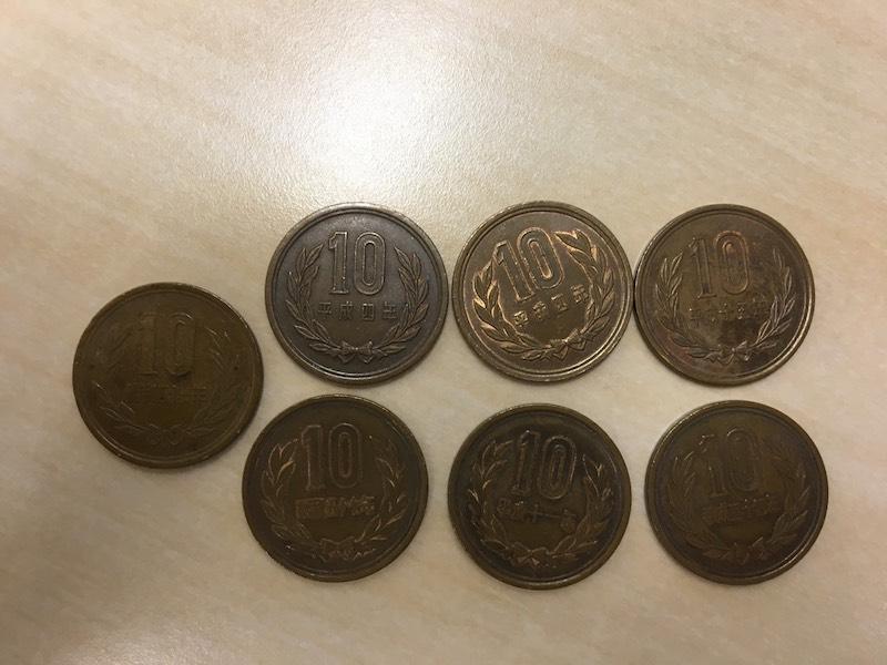 昭和26年の10円玉